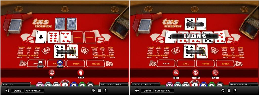 texas holdem 2 softgamings