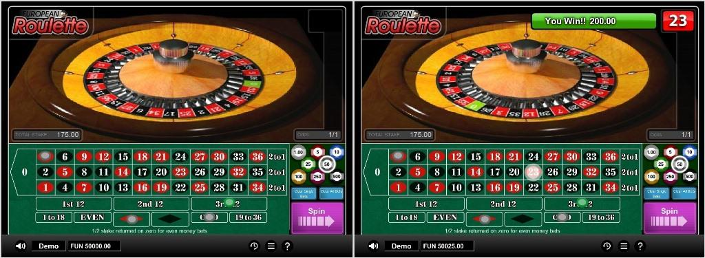 european roulette softgamings