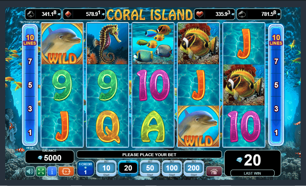 EGT Interactive Coral Island