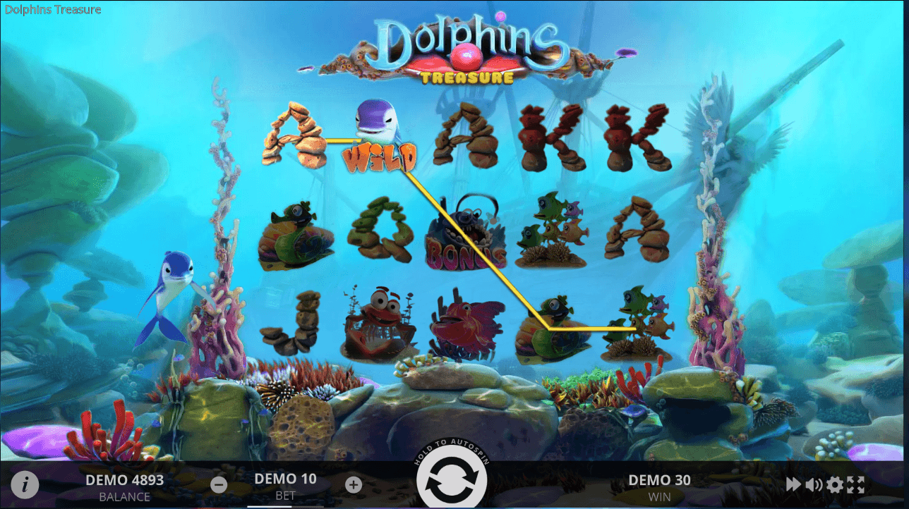 dolphins treasure softgamings