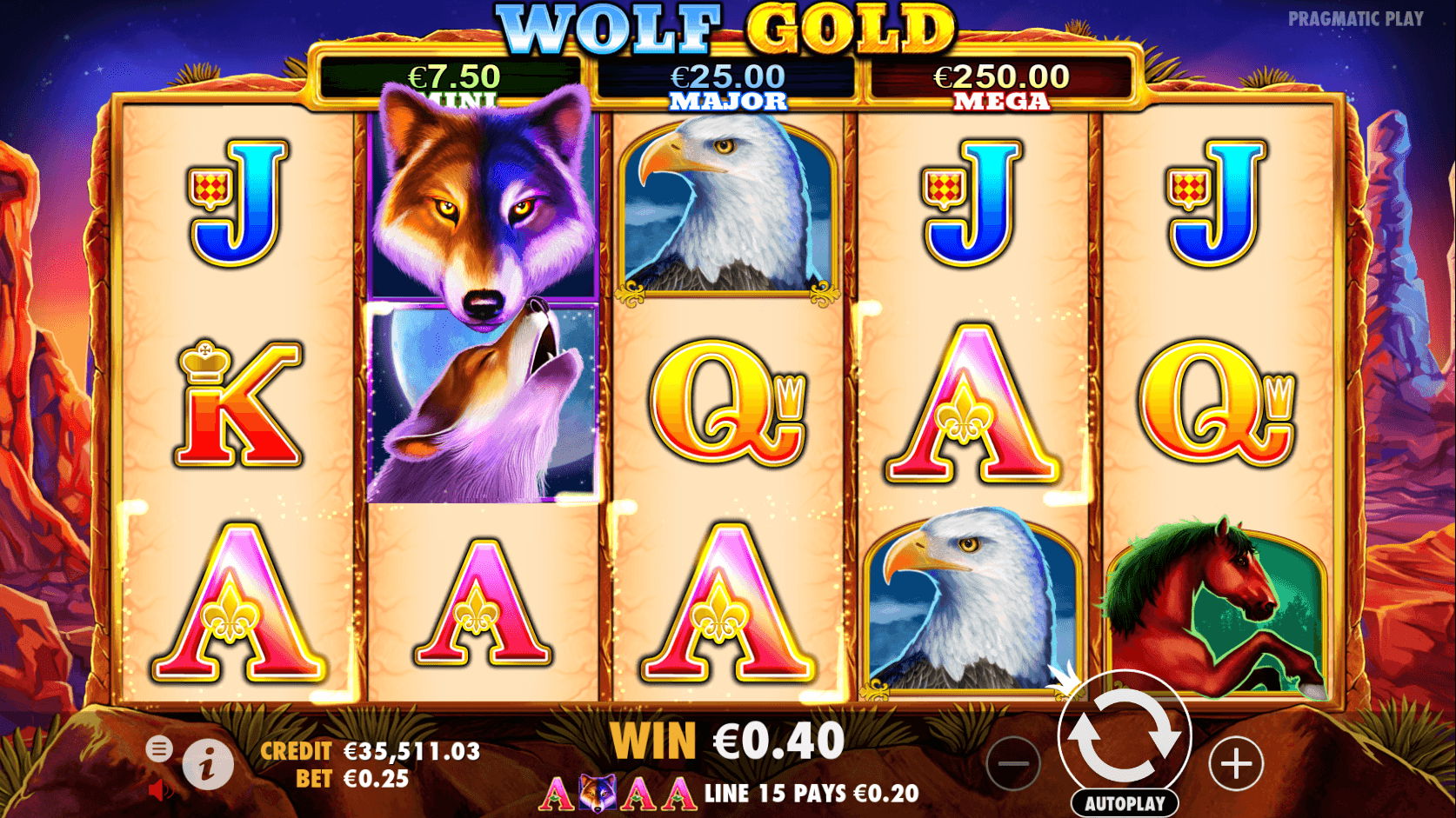 wolf gold softgamings
